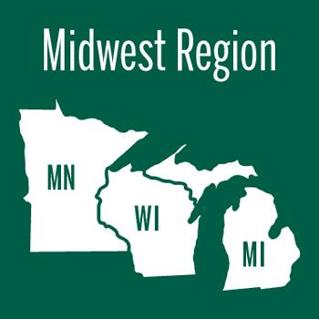 Midwest Region: MN, MI & WI