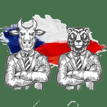 České akcie