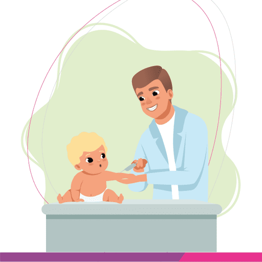 Vaccination for Babies